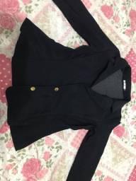 Blaser preto tamanho M