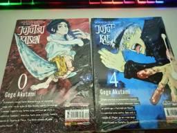Jujutsu Kaisen Volume 0 e 4 LACRADOS