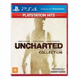 Game Uncharted Collection PS4 Lacrado