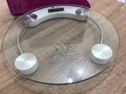 Título do anúncio: Balança Digital Banheiro Peso Corporal Vidro Temperado 180kg