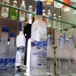 Miniatura Vodka Grey Goose Francesa - 200ml - Original, Lacrada e Licenciada