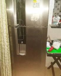 Refrigerador Electrolux DW42X Frost Free com Inox 380L ( leia a descrição)