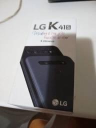 Título do anúncio: Celular LG K 41S Novo, 4 Câmeras