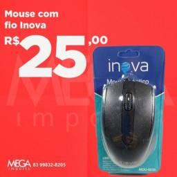 Mouse com fio.