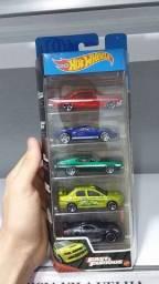 Título do anúncio: Hot Wheels Velozes e Furiosos Pack 5 Fast Furious