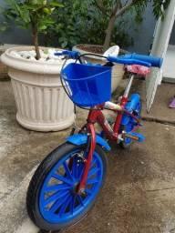 Título do anúncio: Bicicleta Homem aranha