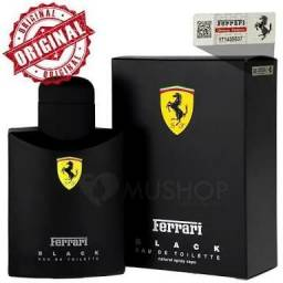 Perfume Masculino Ferrari Black 125ml Original Importado