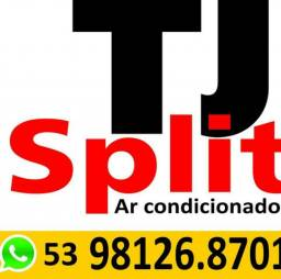 Tj split. instalação e manutenção em ar condicionado.