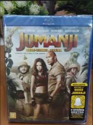Blu ray Jumanji e a Mumia (lacrados)