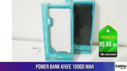 Para te salvar da bateria acabando! - Power Bank 10000 Mah