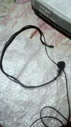 Microfone auricular para dj