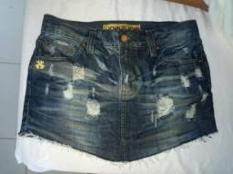 Saia jeans John John original nova
