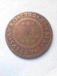 Moeda de puro cobre de 1722!!!! BARBADAAAAA