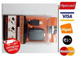 Adaptador Hdmi Para VGA Com Áudio (Entrega Grátis para Fortaleza)