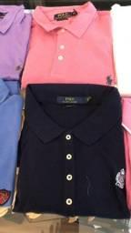 Kit com 5 camisas Polos originais