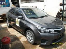Sucata Toyota Corolla GLi 1.8 16v Flex Aut Motor ,Cambio,Peças ,Lataria E Acabamentos