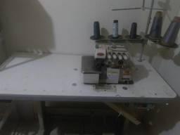 Maquina de costura interloqui 2 agulha iamta