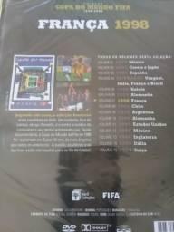 Dvd original copa 98 da franca