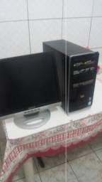 """Cpu hp Core 2 Placa video Ddr3 64 bits 2gb Hdmi/Monitor 17"""""""