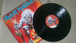 Iron Maiden LP A Real Live One