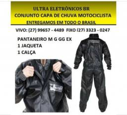Capa Pantaneiro Motociclista P M G
