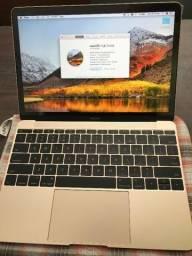 """New Macbook 12"""" Retina Dourado - Perfeito estado"""