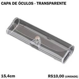 Capa para Óculos Transparente