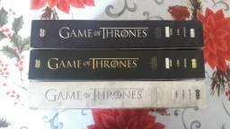 DVDs Game of Thrones( Originais) 1,2,3 temporada (15 discos)