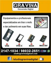 Limpeza de mofo e restauração de fitas de Filmadora e VHS 6203888fff958