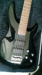 Usado, Aceito trocas por baixo precision squier ou jazz bass comprar usado  Maracanaú