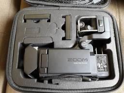 Zoom Q8 gravador de audio e video + case e acessorios guitarra live instrumentos shows, usado comprar usado  Vila Velha