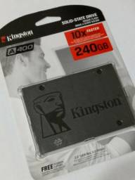 Usado, HD Hard disk Kingston ssd A400 240gb Sata 3 530mb/s - Lacrado, novo comprar usado  Curitiba