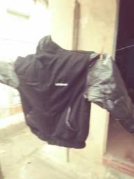 Jaqueta de couro amanati