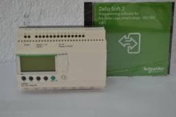 Clp Rele Programável Zelio Com Cabo E Cd Sr2 Pack2bd