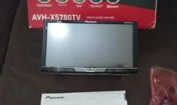 DVD Player Multimídia Pioneer AVH-X5780TV, Semi Novo C/ TV Digital e AppRadio Live