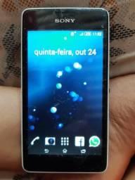 Celular Nokia Xperia pega watts e face