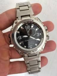 Relógio Casio G-Shock (todo em aço inoxidável)