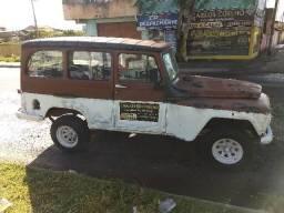 Vendo Rural 1962 baixada no Detran  toda original