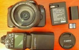 Canon EOS60D + Lente + Flash
