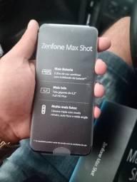 Zen fone Max shot na caixa 64 GB Novo sem uso completo