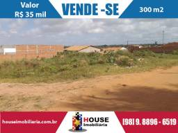 Vendo terreno no maiobão, com 300 m2