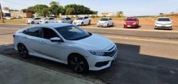 Honda civic exl 2017 com 60mil km quatros pneus novos bridgestone