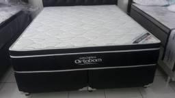 :: Promoçao Cama Box + Colchao Elegant Pocket Ortobom Queen Size 158x198 Confira