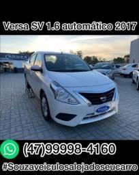 NISSAN VERSA 2016/2017 1.6 16V FLEX SV 4P XTRONIC