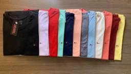 Camisetas 100 % algodão