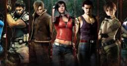 Jogos da Série Resident Evil Para PS4