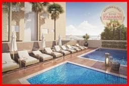 Apartamento com 2 dormitórios à venda, 91 m² por R$ 551.000,00 - Jardim Marina - Mongaguá/
