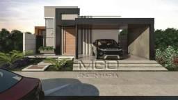 Bela Casa Térrea Moderna - Altos da Serra VI - São José dos Campos