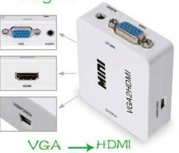 COD-CP379 Adaptador Hdmi Para Vga com Porta de Audio Arduino Automação Robotica