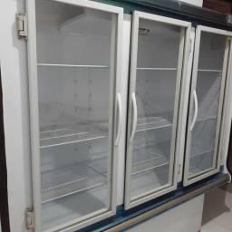 Expositor e balcão refrigerado